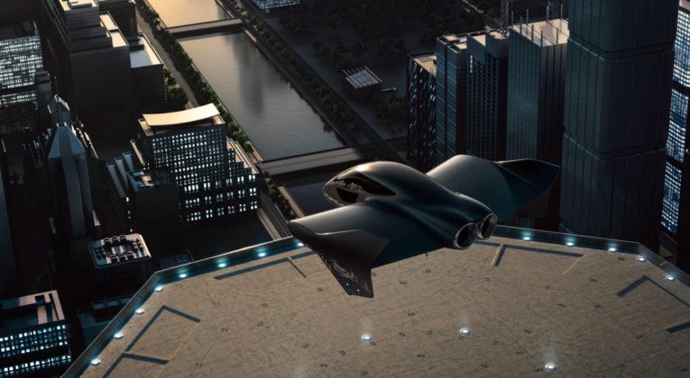 Porshe og Boeing samarbeid om flyvende elbil