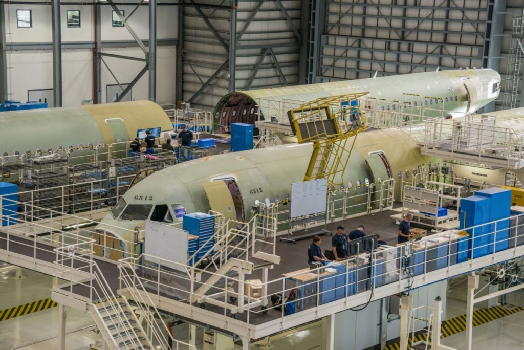 Airbus-fabrikken i Mobile, Alabama