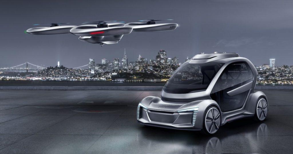 Audi og Airbus sin flyvende bil