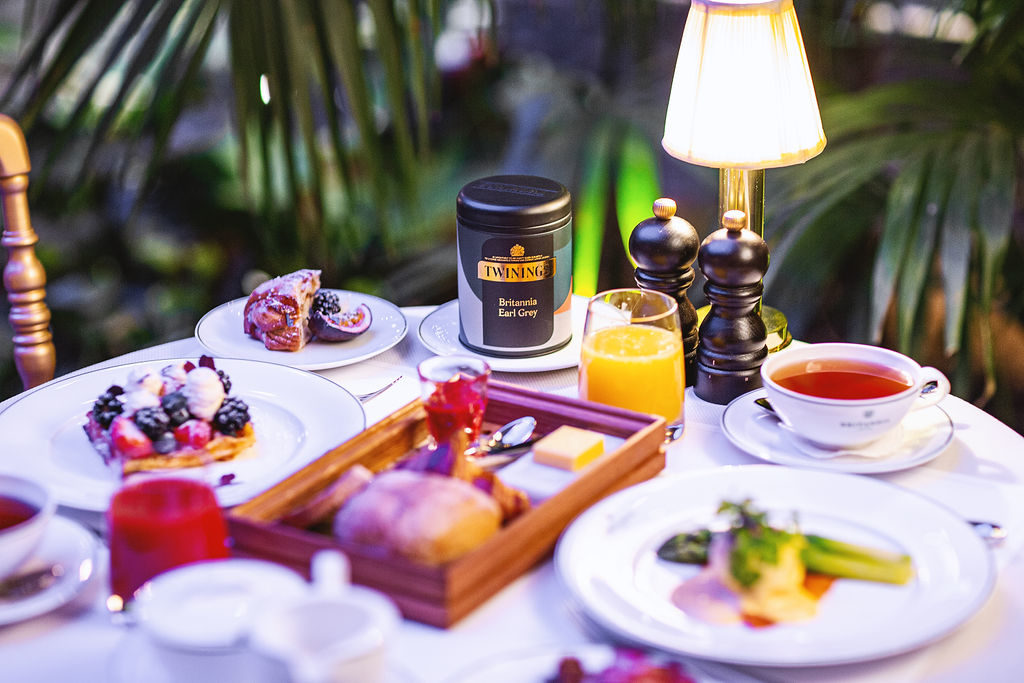 5-stjerners frokost på Britannia Hotel