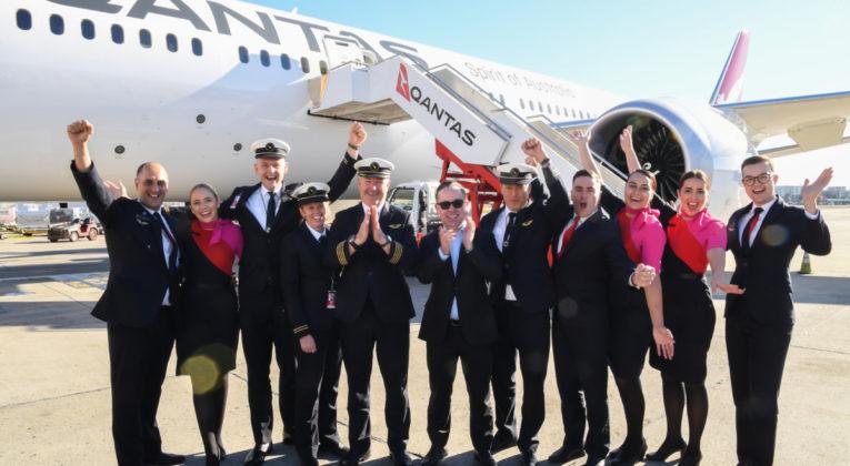 Qantas QF7879 New York - Sydney Project Sunrise Boeing 787 ultralang flyrute