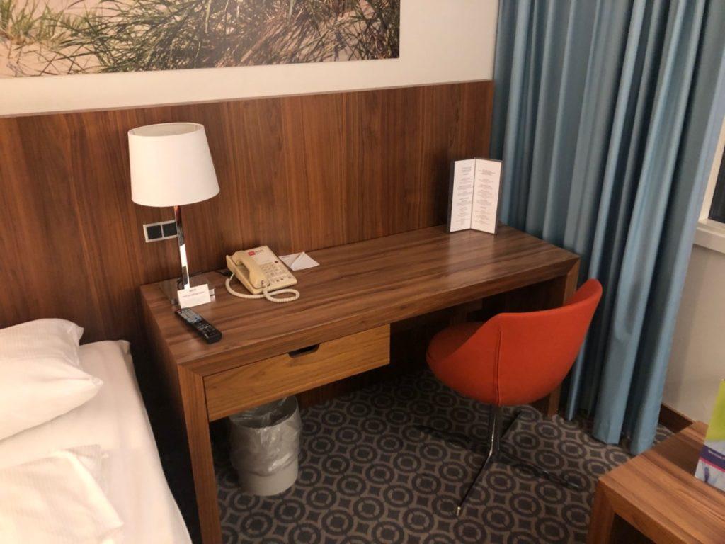 Skrivebord på rommet