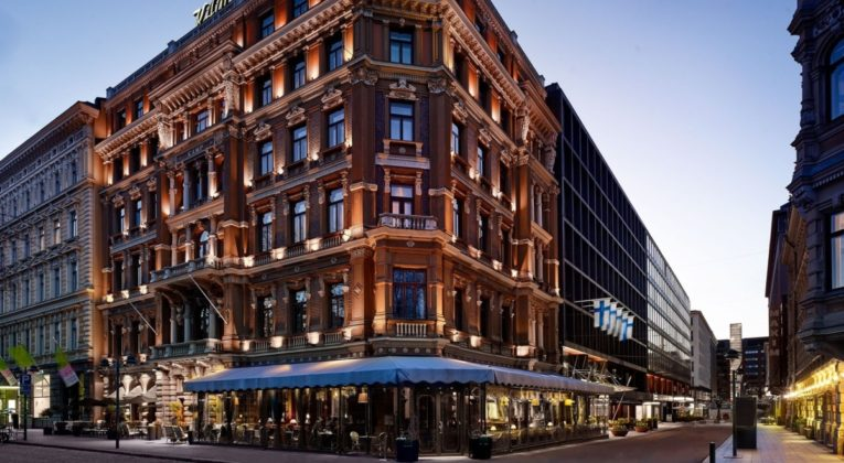 Hotel Kämp i Helsinki, Finland.