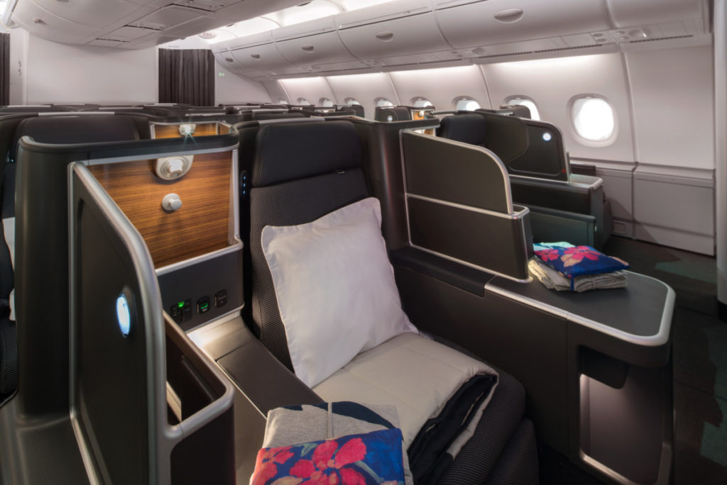 Qantas Airbus A380 business suites