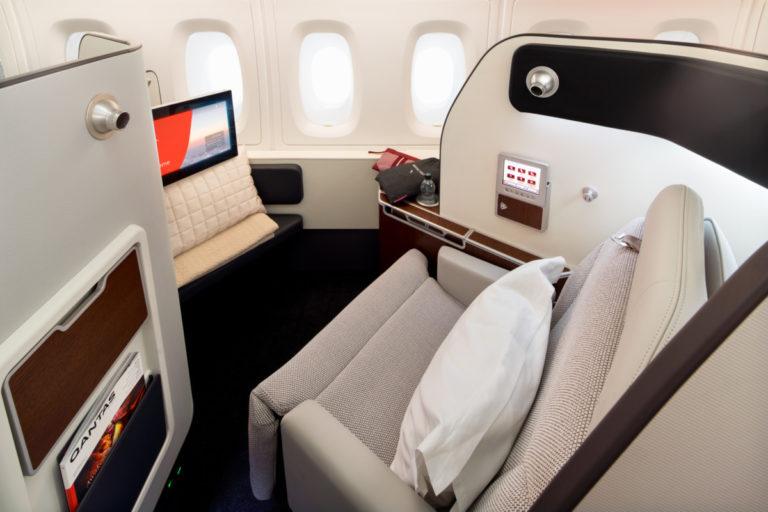 Qantas Airbus A380 First Class
