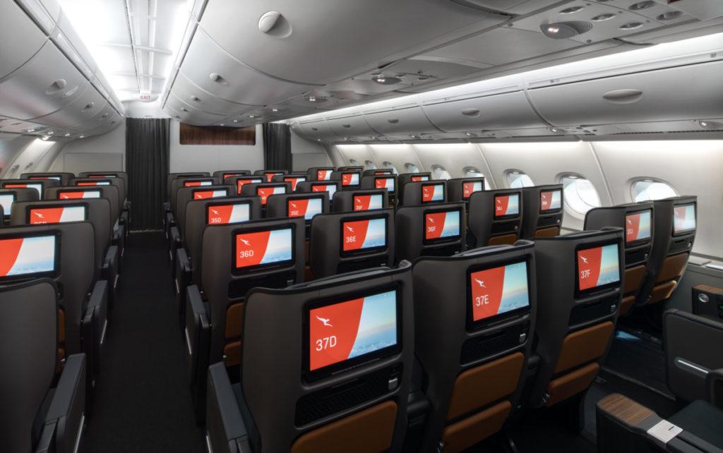 Qantas Airbus A380 Premium Economy