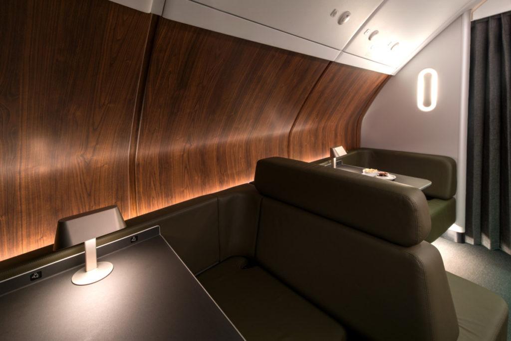 Qantas Airbus A380 lounge
