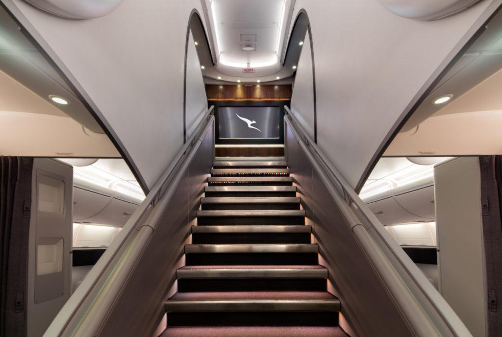 Qantas Airbus A380 trapp