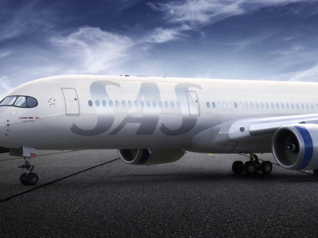 Airbus A320neo fra SAS