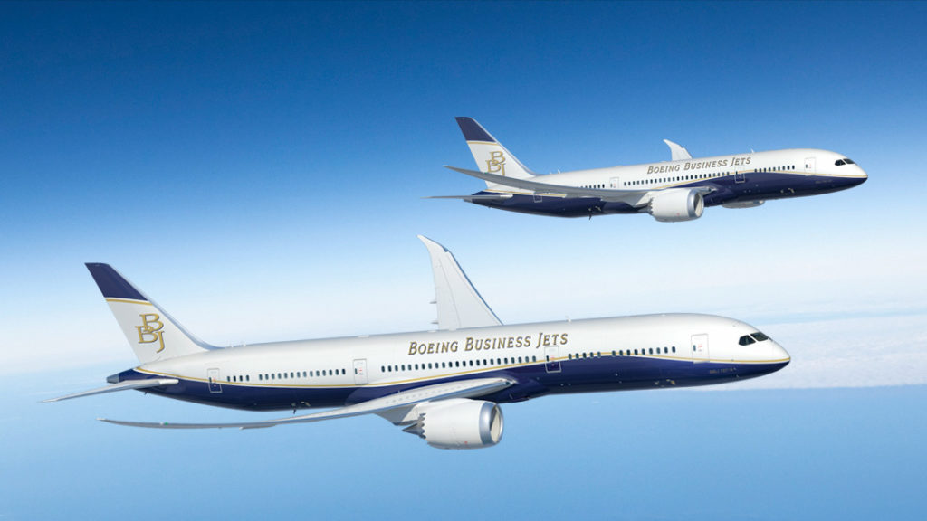 Boeing 787 Dreamliner Business Jet