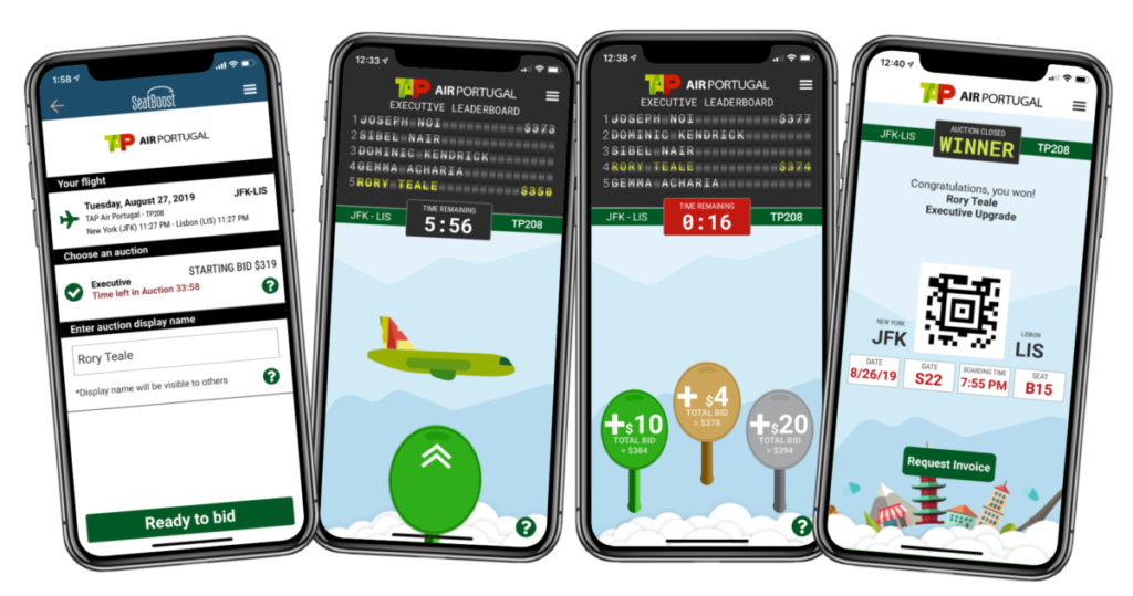 SeatBoost for TAP Air Portugal