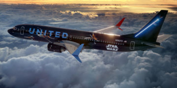 United Airlines Boeing 737-800 Star Wars Livery