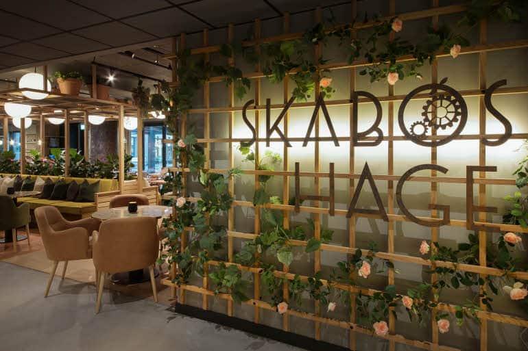 Restauranten Skabos Hage på Scandic Sjølyst