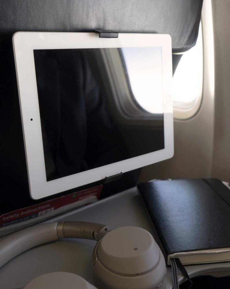 AIRMATE tablet i bruk