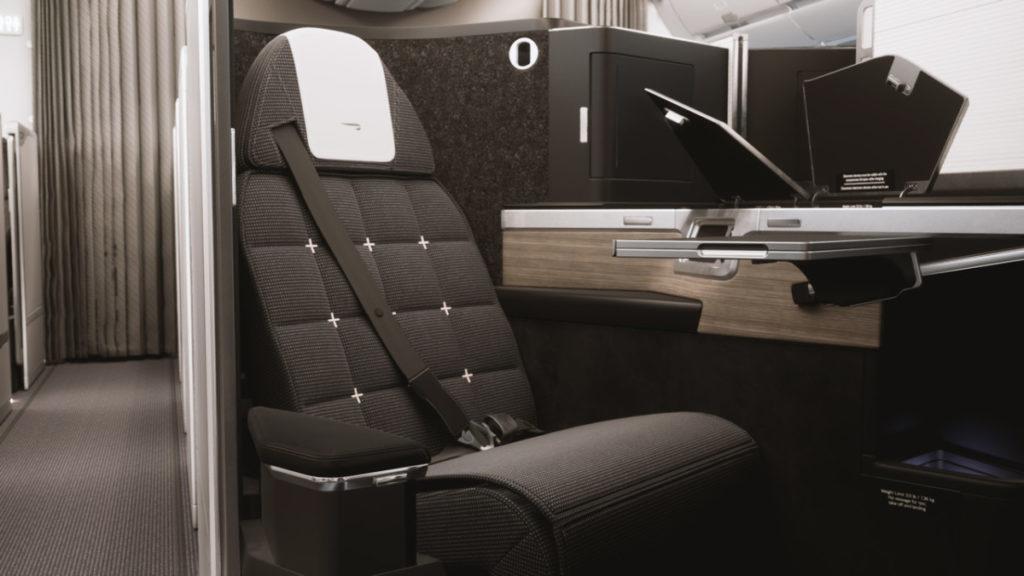 British Airways Boeing 787 First Class