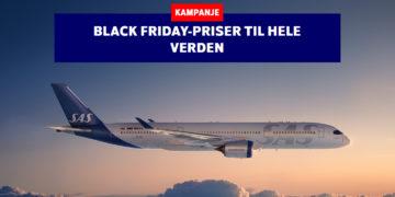 Black Friday-tilbud fra SAS