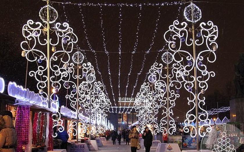 Julemarked i St. Petersburg