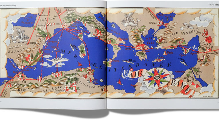 Airline Maps - A Century of Art and Design