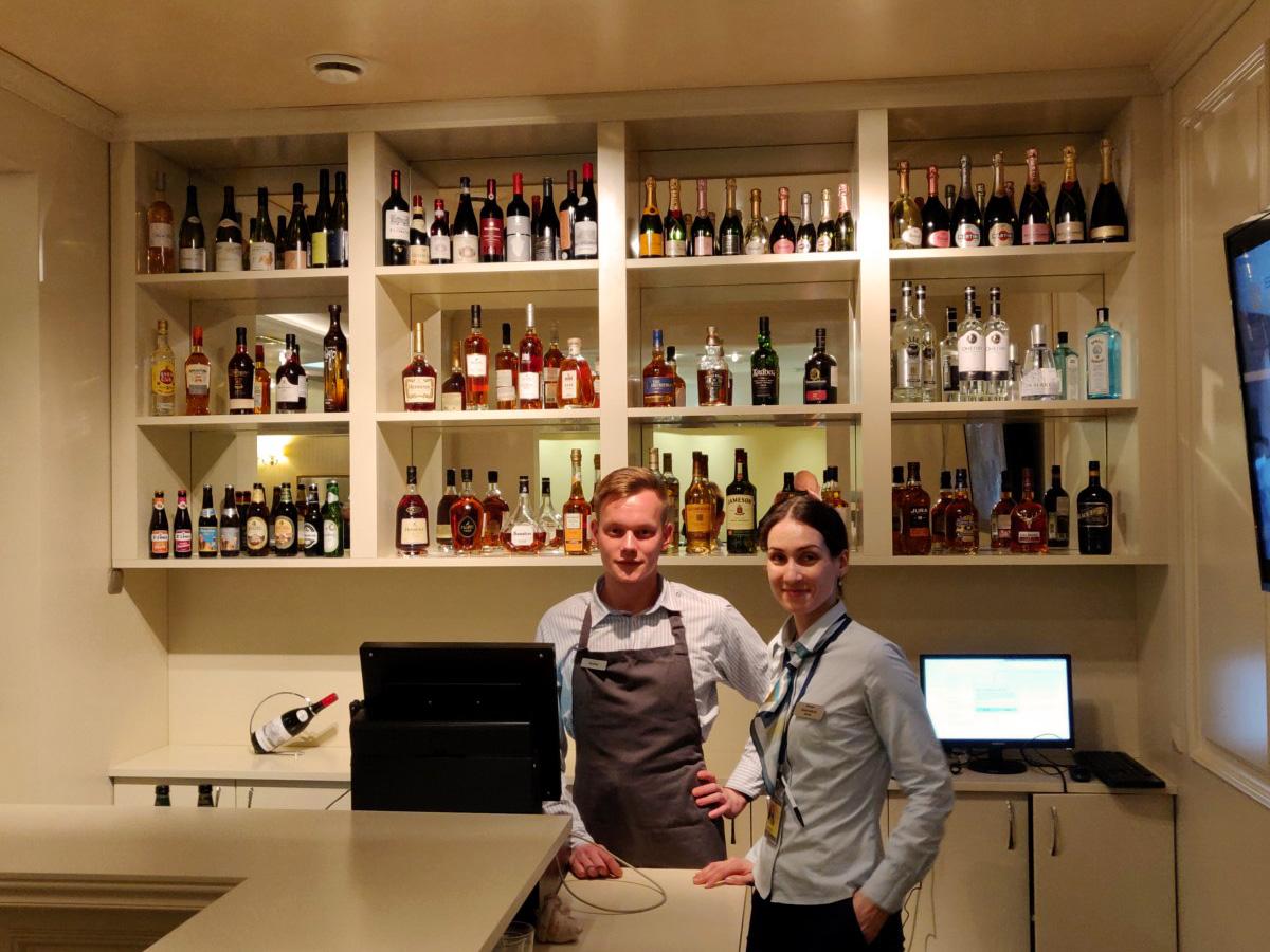 Baren er åpen i Classic Lounge Moskva Sheremetyevo