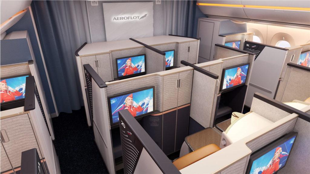 Aeroflot Airbus A350-900 business class