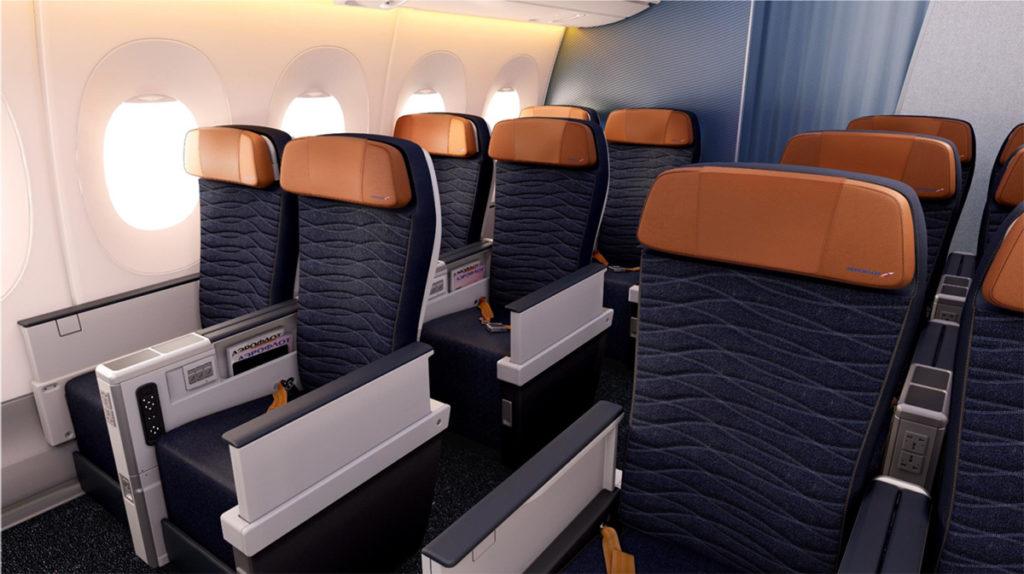Aeroflot Airbus A350-900 premium økonomi