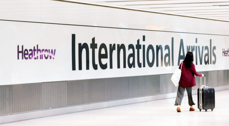 London Heathrow International Arrivals