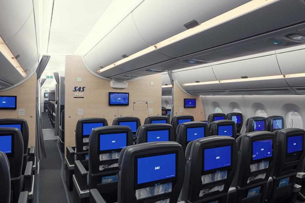 SAS Plus, Airbus A350