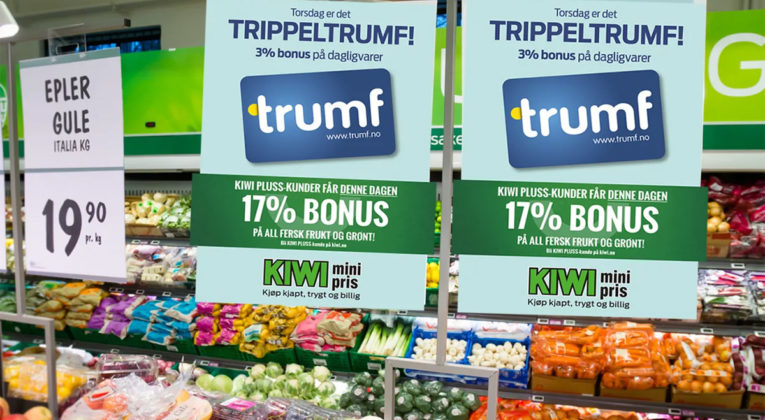 Trippel-Trumf torsdag på Kiwi