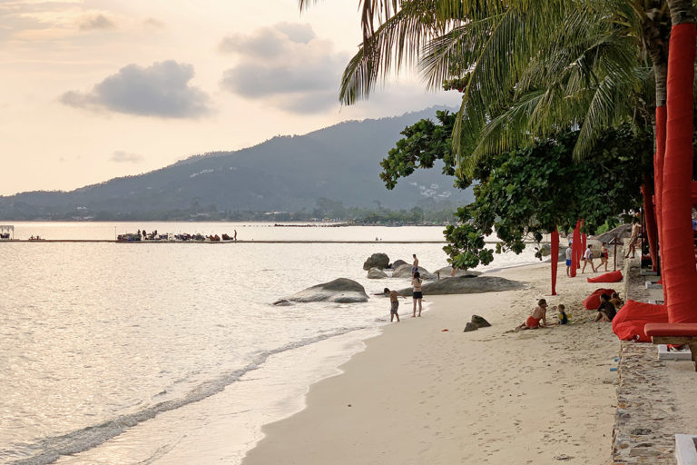 Privat strand