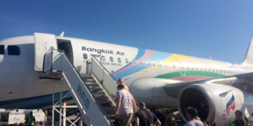 Bangkok Airways Airbus A319