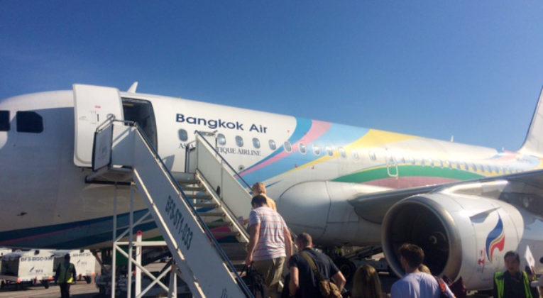 Bangkok Airways Airbus A319