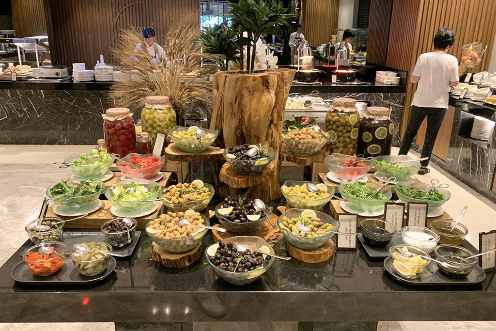 Zaxi Restaurant frokostbuffet