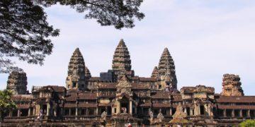 Angkor Wat-tempelet i Siem Reap, Kambodsja