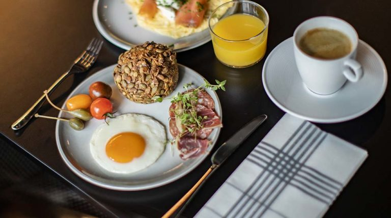 Frokost på Clarion Hotel Oslo