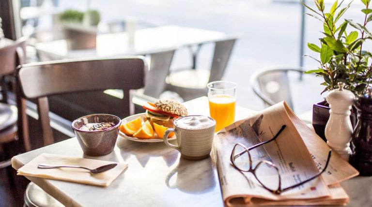 Frokost på Clarion Hotel Amaranten