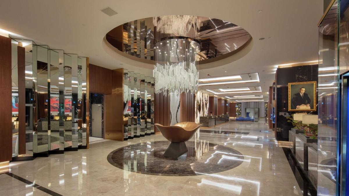 Hilton Istanbul Maslak Lobby