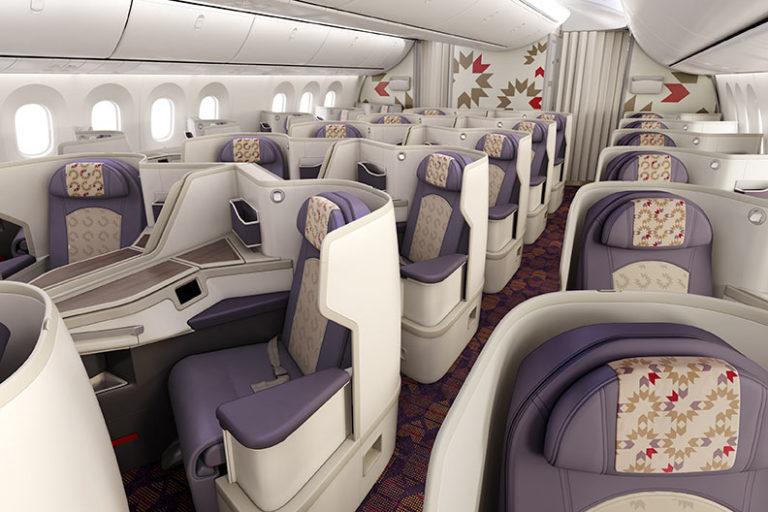 Royal Air Maroc Business Class på Boeing 787-9 Dreamliner