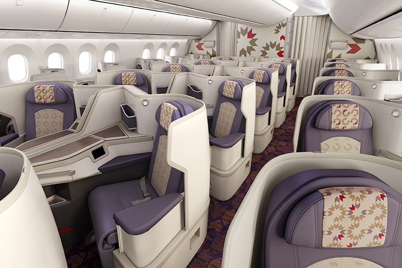 Royal Air Maroc Business Class på Boeing 787-9 Dreamliner