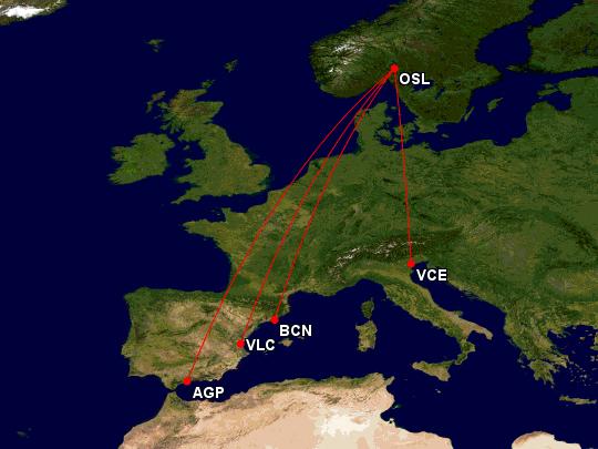 SAS Now or Never reisemål, torsda 16. januar 2020
