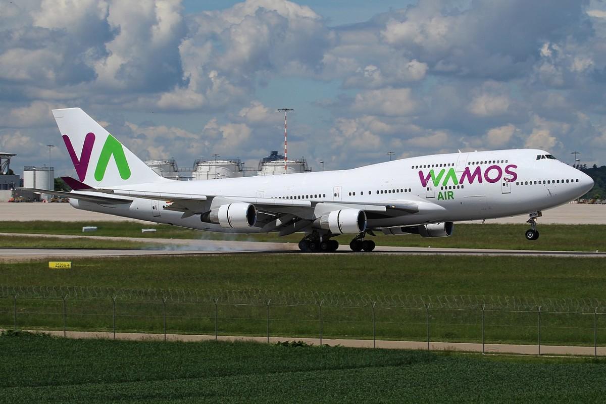 Wamos Air Boeing 747 EC-MRM