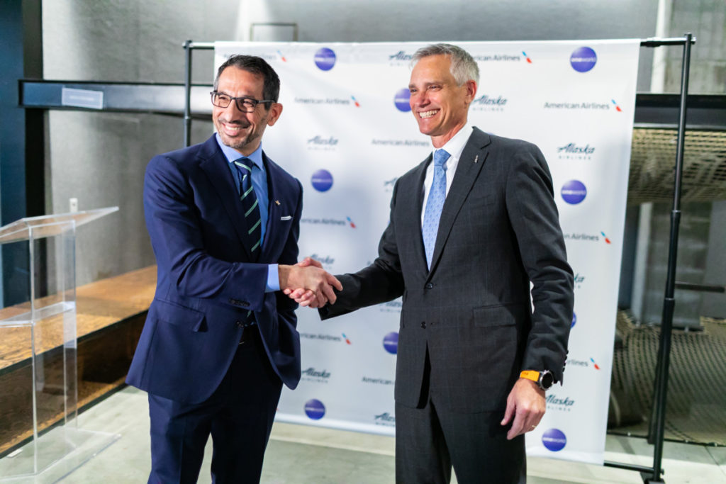 Alaska Airlines og American Airlines skal igjen samarbeide