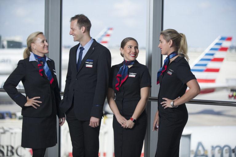 American Airlines kabinbesetning på Miami International Airport MIA