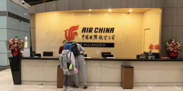 Air China First Class Lounge Beijing, terminal 3