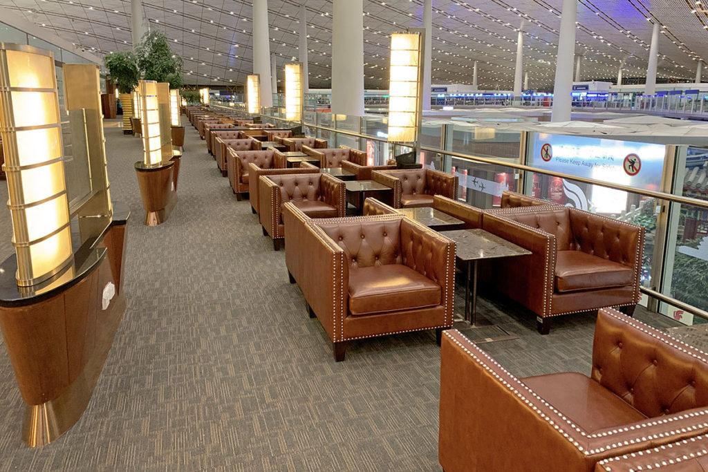 Air China First Class Lounge Beijing, terminal 3
