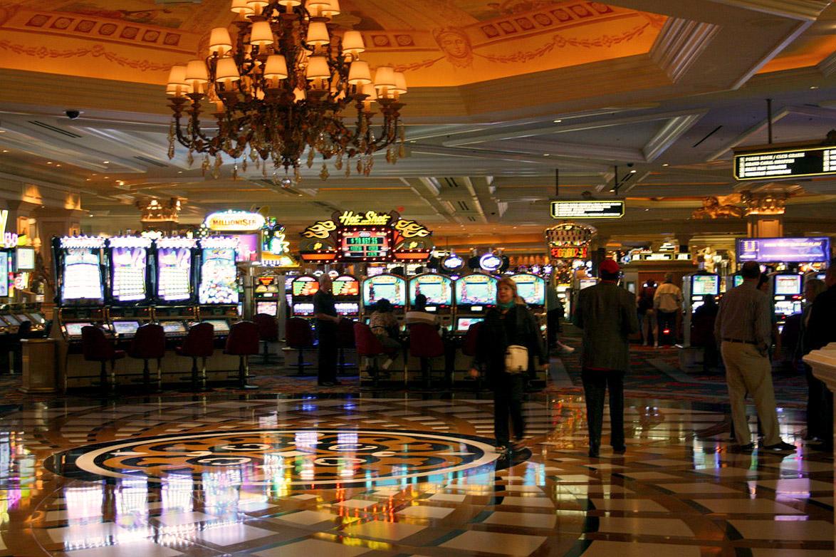 Inngangen til The Venetians kasino