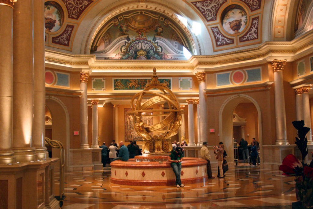 Lobbyen på The Venetian