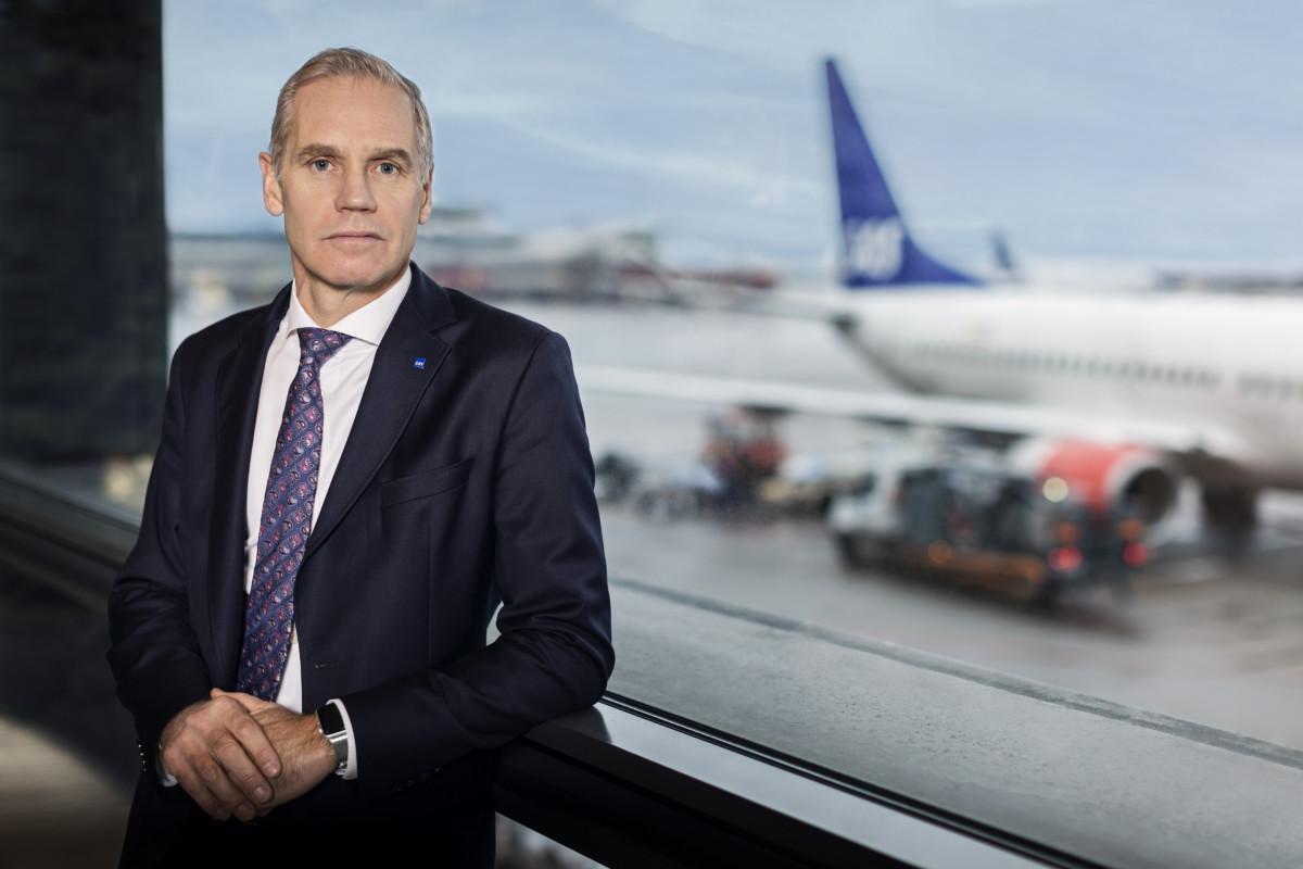 Konserndirektør i SAS, Rickard Gustafsson