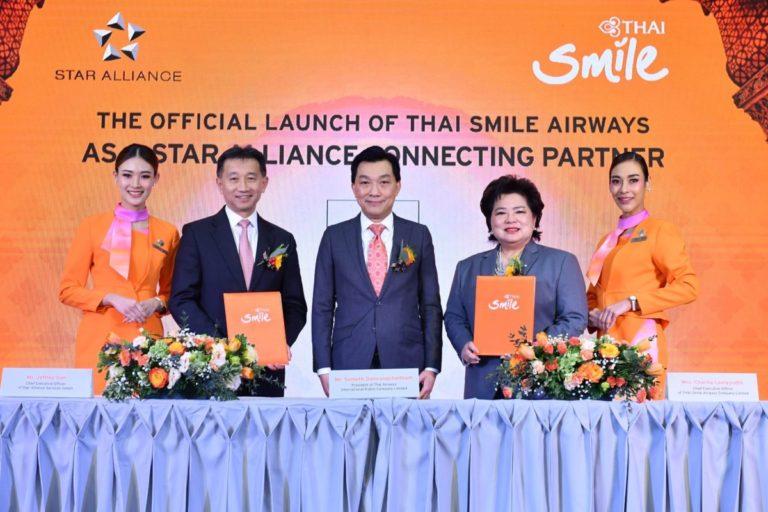 THAI Smile Airways blir Star Alliance Connecting Partner