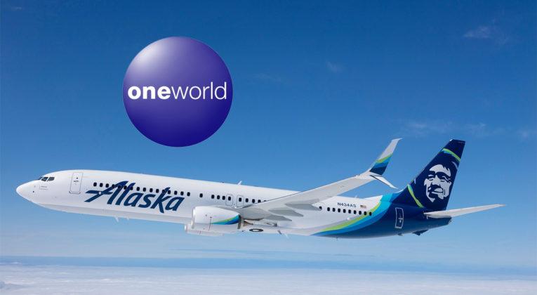 Alaska Airlines blir en del av Oneworld
