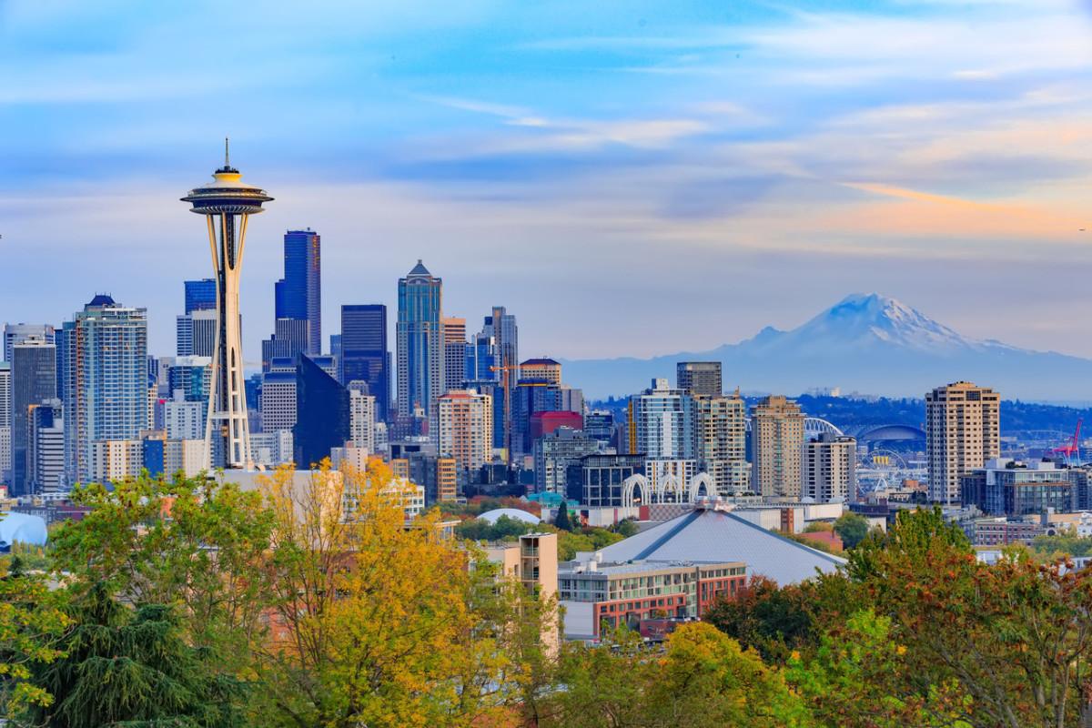 London - Seattle øker fra én til to daglige avganger i mai.